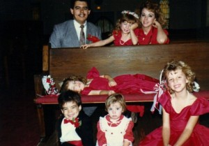 Us and all the little kiddos circa 1987?