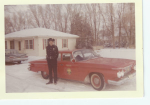 Daddy as a Greeley, Colorado cop.