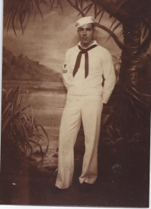 Grandpa Allison Navy. WWII