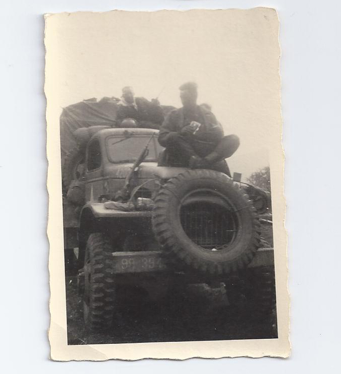 April 1945 P and A Truck