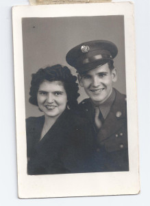 My Dad and Mom March 1944