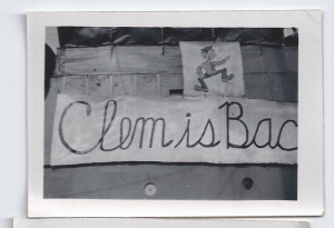 This was on the back of the troop ship when my dad came home when the war was over.