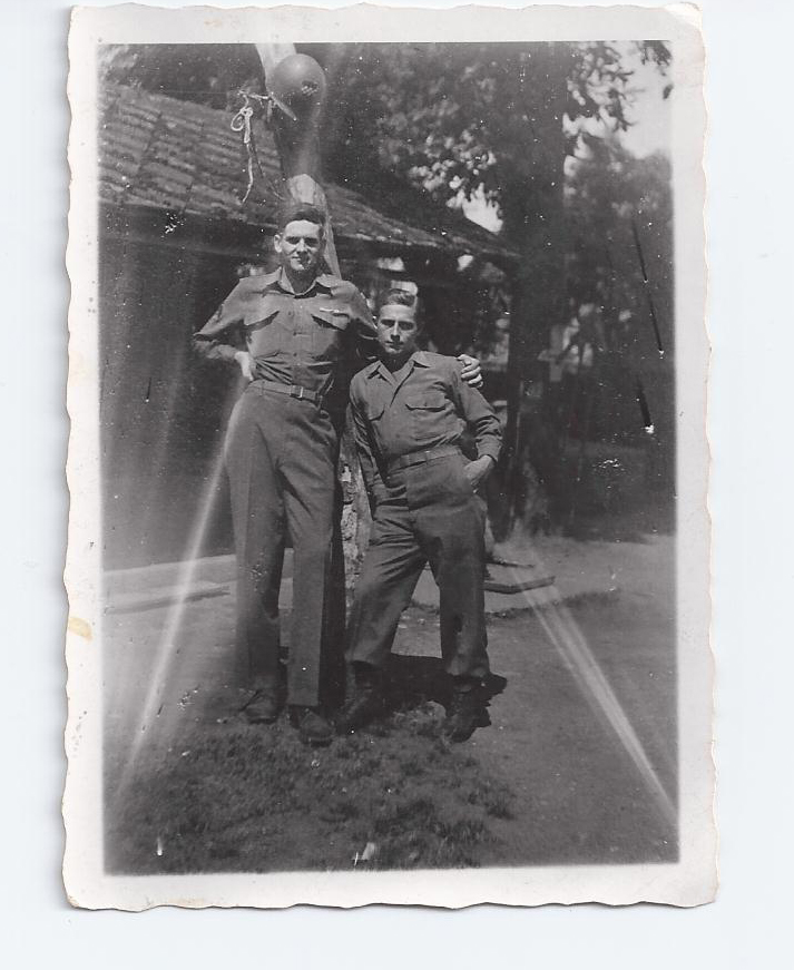 July 1945 Karlstadt, Germany- Long and Rhoades